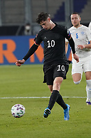 Kai Havertz (Deutschland, Germany) zieht ab - 25.03.2021: WM-Qualifikationsspiel Deutschland gegen Island, Schauinsland Arena Duisburg