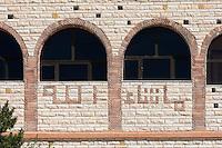"Tripoli, Libya. Prayer of Thanks on House in Stone.  Ma Sha'allah, ""What has God wrought?"""