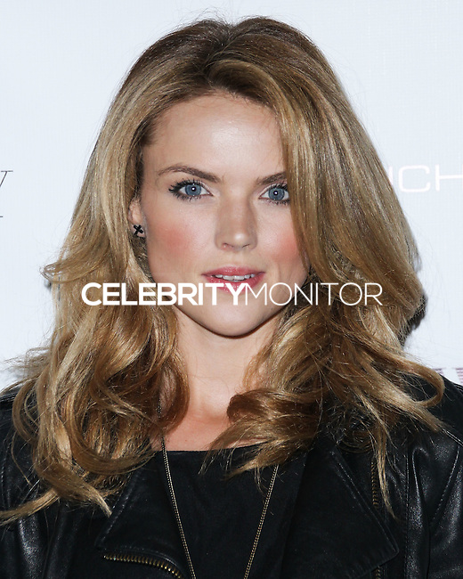 NEW YORK CITY, NY, USA - SEPTEMBER 03: Erin Richards arrives at the Flaunt Magazine Distress Issue Launch held at Gilded Lily on September 3, 2014 in New York City, New York, United States. (Photo by Jeffery Duran/Celebrity Monitor)