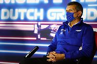 3rd September 2021: Circuit Zandvoort, Zandvoort, Netherlands; F1 Grand Prix of the Netherlands Guenther Steiner ITA, Haas F1 Team, F1 Grand Prix of the Netherlands at Circuit Zandvoort