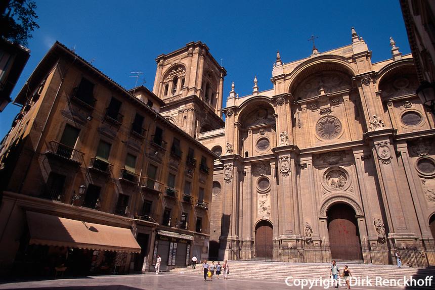 Spanien, Andalusien, Kathedrale in Granada