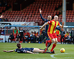 04.05.2018 Partick Thistle v Ross County: Connor Sammon bursts through but is offside