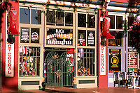 Gastown, Vancouver, BC, British Columbia, Canada - Store Front / Storefront Entrance, Downtown Retail Stores