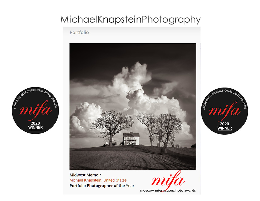 Michael Knapstein was named the International Portfolio Photographer of the Year by the Moscow International Foto Awards (MIFA).