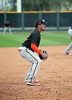 Kean Wong - San Francisco Giants 2020 spring training (Bill Mitchell)
