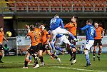 Dundee United v St Johnstone…12.01.21   Tannadice     SPFL<br />Guy Melamed scores for saints<br />Picture by Graeme Hart.<br />Copyright Perthshire Picture Agency<br />Tel: 01738 623350  Mobile: 07990 594431