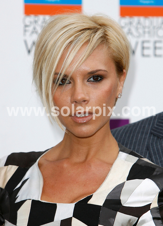 ALL ROUND PICTURES FROM SOLARPIX.COM.**WORLDWIDE RIGHTS*.The 2007 Graduate Fashion Week Gala at the Battersea Park Events Arena in London held yesterday 06_06_07..This Pic:Victoria Beckham..REF:4043-PRS        DATE: 06_06_07.**MUST CREDIT SOLARPIX.COM OR DOUBLE FEE WILL BE CHARGED* *UNDER NO CIRCUMSTANCES IS THIS IMAGE TO BE REPRODUCED FOR ANY ONLINE EDITION WITHOUT PRIOR PERMISSION*