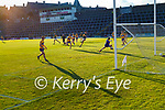 David Clifford, scores Kerry's second goal during the Munster Football Championship game between Kerry and Clare at Fitzgerald Stadium, Killarney on Saturday.