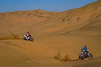 4th January 2021; Dakar Rally stage 2;  #33 Koitha Veettil Harith Noard (ind), Sherco, Sherco TVS Rally Factory, Motul, Moto, Bike, action during the 2nd stage of the Dakar 2021 between Bisha and Wadi Al Dawasir, in Saudi Arabia on January 4, 2021