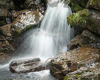 Bridal Veil Creek, Arthur's Pass National Park, South Westland, South Island, New Zealand, NZ