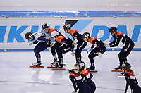 SCHAATSEN: HEERENVEEN: 02-12-2020, IJsstadion Thialf, Topsporttraining Shorttrack, ©foto Martin de Jong