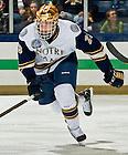 Mar. 1, 2013;  Hockey vs. Bowling Green, Eric Johnson (23).