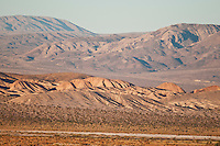 View of the Owlshead Mountains from Saratoga Spring, Death Valley National Park, California