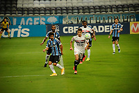 PORTO ALEGRE, (RS), 14.02.2021 - GRÊMIO - SÃO PAULO – O jogador Vitor Bueno, da equipe do São Paulo, na partida entre Grêmio e São Paulo, válida pela 36ª rodada do Campeonato Brasileiro 2020, no estádio Arena do Grêmio, em Porto Alegre, neste domingo (14).