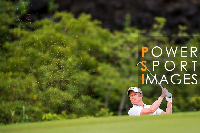 Players in action during the Mission Hills Celebrity Pro-Am on 26 October 2014, in Haikou, China. Photo by Victor Fraile / Power Sport Images