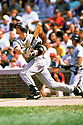 CHICAGO - CIRCA 1999:  Craig Biggio #7 of the Houston Astros bats during an MLB game at Wrigley Field in Chicago, Illinois. Biggio played for 20 seasons, all with the Houston Astros, was a 7-time All-Star and was inducted to the Baseball Hall of Fame in 2015.(David Durochik / SportPics) --Craig Biggio