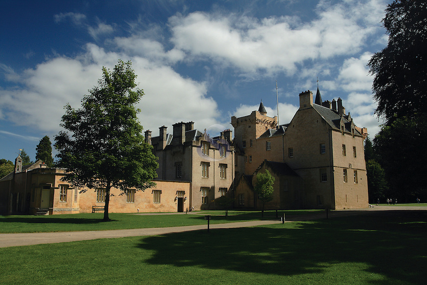 Brodie Castle, near Forres, Moray<br /> <br /> Copyright www.scottishhorizons.co.uk/Keith Fergus 2011 All Rights Reserved