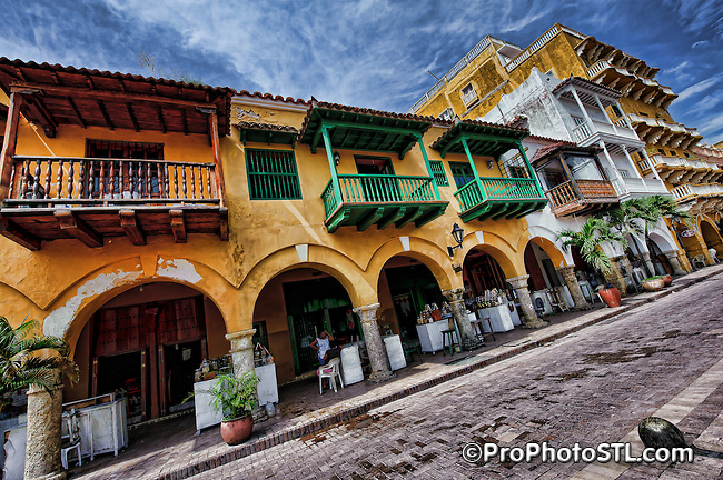 Cartagena city in Colombia