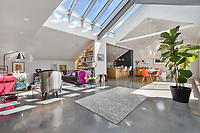 Real glassy home - London home with a giant glass roof has gone on sale for £2.275m.