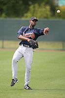 March 22nd 2008:  Jason Heyward of the Atlanta Braves minor league system during a Spring Training camp day at Disney's Wide World of Sports in Orlando, FL.  Photo by:  Mike Janes/Four Seam Images