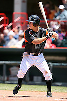 May 31, 2009:  Andy Dirks of the Erie Seawolves at bat during a game at Jerry Uht Park in Erie, NY.  The Seawolves are the Eastern League Double-A affiliate of the Detroit Tigers.  Photo by:  Mike Janes/Four Seam Images