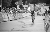 Mike Cuming (GBR) finishing<br /> <br /> Tour of Britain<br /> stage 3: ITT Knowsley Safari Park (16.1km)