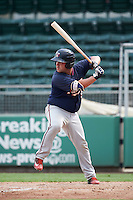 Minnesota Twins catcher Mitchell Kranson (9) during an Instructional League game against the Boston Red Sox on September 23, 2016 at JetBlue Park at Fenway South in Fort Myers, Florida.  (Mike Janes/Four Seam Images)