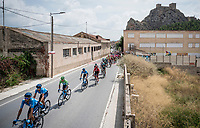 Green Jersey Nairo Quintana (COL/Movistar)<br /> <br /> Stage 3: Ibi. Ciudad del Juguete to Alicante (188km)<br /> La Vuelta 2019<br /> <br /> ©kramon