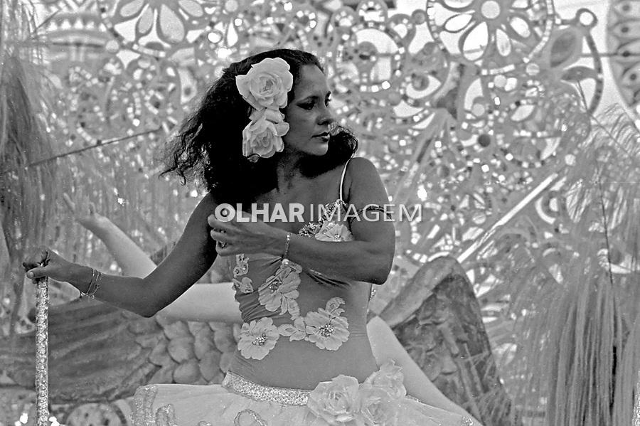Pessoa. Personalidade. Cantora Gal Costa. RJ. 1980. Foto de Juca Martins.