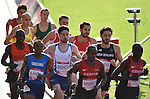 Wales' Chris Gowell competes in the men's 1500m round 1 - heat 2<br /> <br /> Photographer Chris Vaughan/Sportingwales<br /> <br /> 20th Commonwealth Games - Day 9 - Friday 1st August 2014 - Athletics - Hampden Park - Glasgow - UK