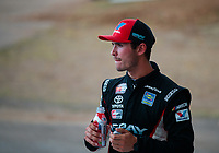May 11, 2019; Tucson, AZ, USA; NASCAR K&N Pro Series driver Tanner Gray prior to the Twin 100s at Tucson Speedway. Mandatory Credit: Mark J. Rebilas-USA TODAY Sports