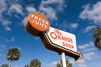 """The Orange Shop"" in central Florida."