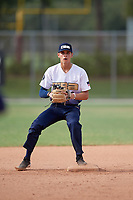 Alex Rodriguez (3) during the WWBA World Championship at the Roger Dean Complex on October 13, 2019 in Jupiter, Florida.  Alex Rodriguez attends Damien High School in Claremont, CA and is committed to Southern California.  (Mike Janes/Four Seam Images)