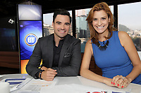 Alexandre Despatie (L) join Breakfast TV, August 28, 2013.<br /> <br /> File Photo : Agence Quebec Presse