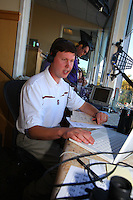 13 October 2007: KNBR Dave Flemming during Stanford's 38-36 loss against the TCU Horned Frogs at Stanford Stadium in Stanford, CA.