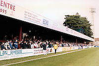 Dean Court, home of AFC Bournemouth (Hampshire), pictured in November 1991 - Gavin Ellis/TGSPHOTO - Self billing applies where appropriate - 0845 094 6026 - contact@tgsphoto.co.uk - NO UNPAID USE..