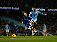 David Silva of Manchester City attempts a shot on goal during the Premier League match at the Etihad Stadium, Manchester. Picture date: 23rd November 2019. Picture credit should read: Darren Staples/Sportimage PUBLICATIONxNOTxINxUK SPI-0317-0028<br /> Foto Imago/Insidefoto <br /> ITALY ONLY
