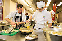 Ruddington Arms chef tutors students
