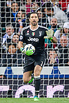 Goalkeeper Gianluigi Buffon of Juventus in action during the UEFA Champions League 2017-18 quarter-finals (2nd leg) match between Real Madrid and Juventus at Estadio Santiago Bernabeu on 11 April 2018 in Madrid, Spain. Photo by Diego Souto / Power Sport Images