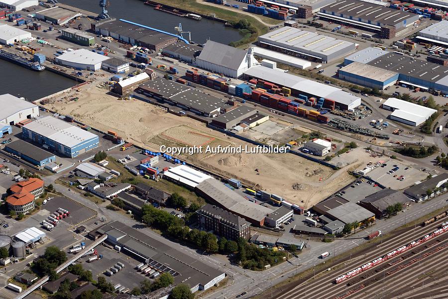 Steinwerder Hafen: EUROPA, DEUTSCHLAND, HAMBURG 22.08.2018 Steinwerder Hafen