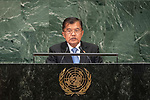 LOS general debate – 27 September<br /> <br /> PM<br /> <br /> His Excellency Muhammad Jusuf KALLA Vice President of the Republic of Indonesia