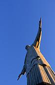 Rio de Janeiro, Brazil. The Christ Statue in evening light.