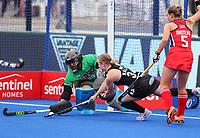 Hope Ralph during the Pro League Hockey match between the Blacksticks women and the USA, Nga Punawai, Christchurch, New Zealand, Sunday 16 February 2020. Photo: Simon Watts/www.bwmedia.co.nz
