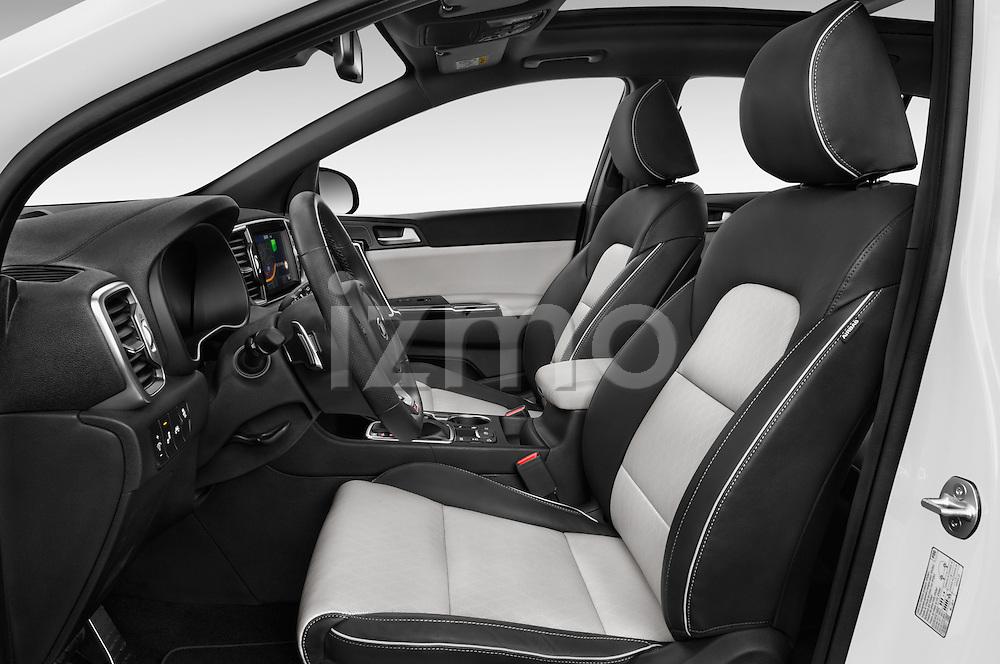 Front seat view of 2016 KIA Sportage GT-Line 5 Door Suv Front Seat  car photos