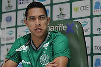 CAMPINAS, SP, 24.05.2019: FUTEBOL-GUARANI - O volante Igor Henrique é apresentado no Guarani no estádio Brinco de Ouro na tarde desta sexta-feira (24). (Foto: Luciano Claudino/Código19)