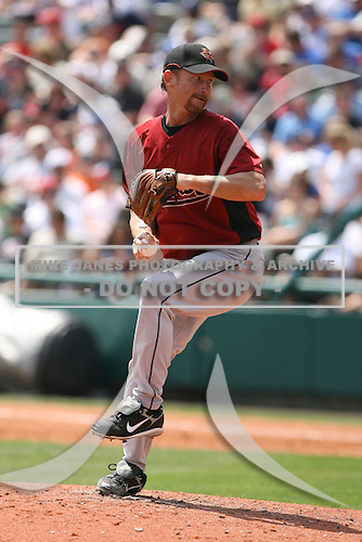 March 23rd 2008:  Woody Williams of the Houston Astros during a Spring Training game at Osceola County Stadium in Kissimmee, FL.  Photo by:  Mike Janes/Four Seam Images