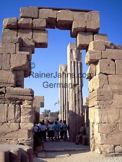 EGY, Aegypten, Luxor: im Karnak Tempel | EGY, Egypt, Luxor: at Karnak Temple