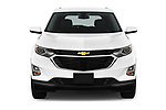 Car photography straight front view of a 2020 Chevrolet Equinox LT 5 Door SUV