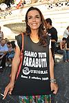 MARIA CUFFARO<br /> MANIFESTAZIONE PER LA LIBERTA' DI STAMPA PROMOSSA DAL FNSI<br /> PIAZZA DEL POPOLO ROMA 2009