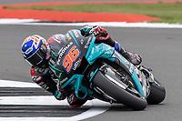 28th August 2021; Silverstone Circuit, Silverstone, Northamptonshire, England; MotoGP British Grand Prix, Qualifying Day; Petronas Yamaha SRT rider Jake Dixon on his Yamaha YZR-M1